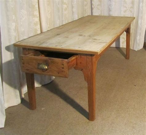 antique farmhouse kitchen table a large french pine scrub top farmhouse kitchen table