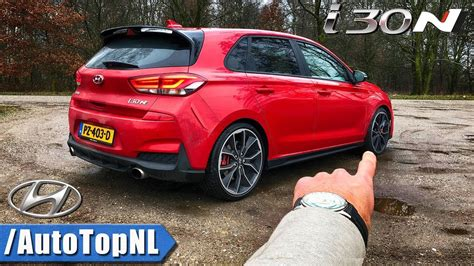 hyundai i30 n mobile hyundai i30 n review on autobahn forest roads by autotopnl