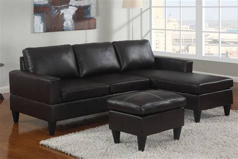 small black leather sectional sofa 10 sectional sofas 500 several styles