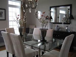 glass top dining room table and chairs woodworking With glass dining room table decor