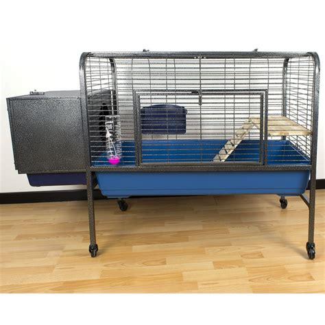 gabbie per coniglio nano gabbia per roditori spaziosa ed elegante 134x57x91 5 cm