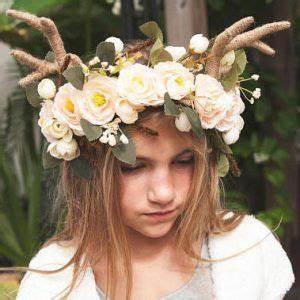 Kostüm Baby Selber Machen : j ger reh kost m selber machen collage halloween halloween headband und floral crown ~ Frokenaadalensverden.com Haus und Dekorationen