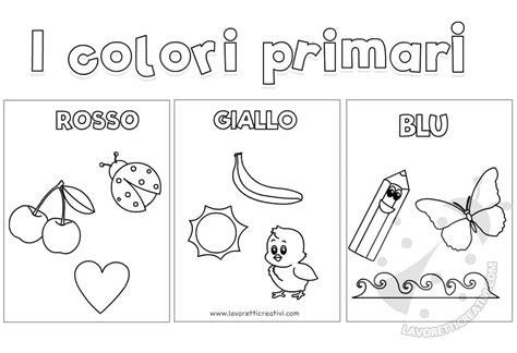 immagini bambini scuola infanzia colori primari scuola infanzia disegni per bambini da