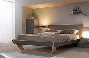 Lit 160 x 200 collection shannon fabricant de meubles for Décoration chambre adulte avec matelas reverie fabricant