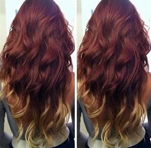Red caramel ombre   Hair   Pinterest   Caramel Ombre ...