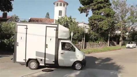 blanc luxe camioneta  de  banos portatiles de lujo youtube