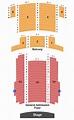 McDonald Theatre Seating Chart - Eugene