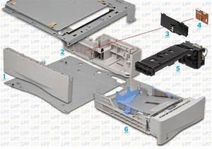Parts Diagram 3 For Laserjet 4000  4050