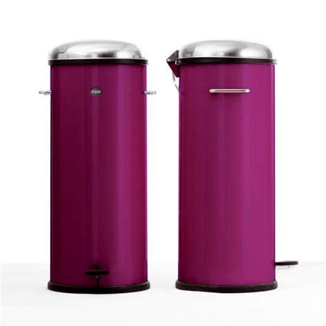 poubelle cuisine 50 litres pedale poubelle à pédale 30 litres purple vipp photo de les