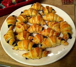 Mini Croissant Apéritif : mini croissants a tapenade noire ap ritif dinatoire ~ Melissatoandfro.com Idées de Décoration