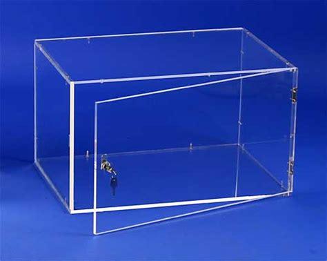 fabriquer une vitrine en plexiglas vitrines et capots plexiglas