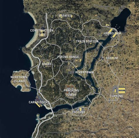 Call of Duty Black Ops 4: Blackout Map Revealed