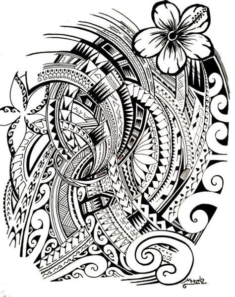 Dessin Polynésien