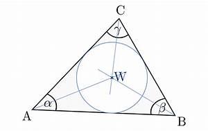 Inkreis Dreieck Berechnen : dreiecke grundwissen mathematik ~ Themetempest.com Abrechnung