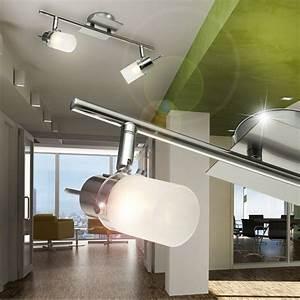 Led Strahler Flur : flur decken led strahler leuchte b ro licht 2x 3 watt design lampe flur modern ebay ~ Markanthonyermac.com Haus und Dekorationen