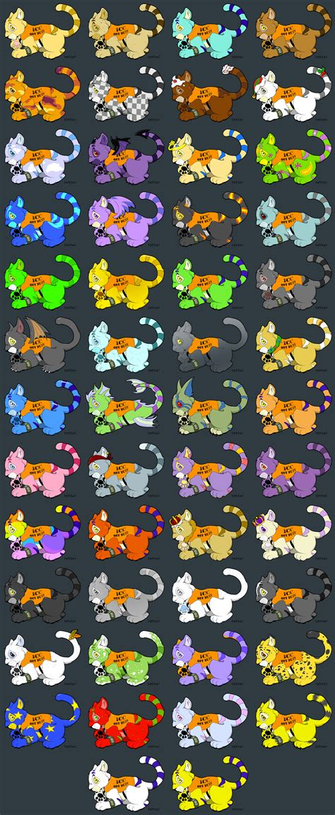 neopets icc kougra adoptables by tehtwi on deviantart