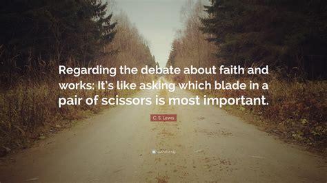 lewis quote   debate  faith