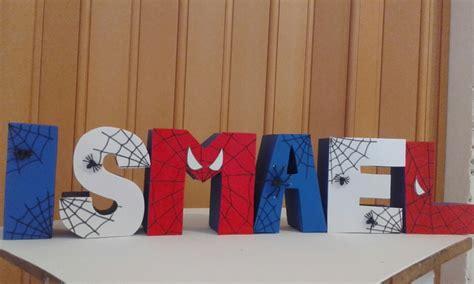 nombre  letras  la mesa decoradas  en