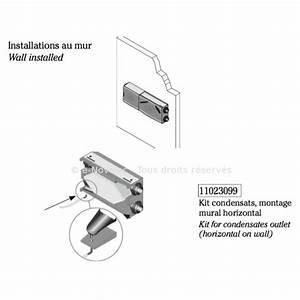 Double Flux Aldes : kit condensats dee fly modulo pour montage mural ~ Edinachiropracticcenter.com Idées de Décoration