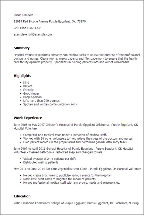 Professional Hospital Volunteer Templates To Showcase Your. Relevant Skills In Resume. Free Creative Resume Templates Word. College Resume Sample. How To Make A Resume Without Any Work Experience. Simple Resume For College Student. Relevant Skills Resume. Mechanical Engineer Resume Sample. Resume For Elementary Teacher