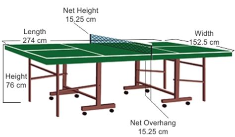 what are the dimensions of a table tennis table everything you need to know about ping pong table dimensions