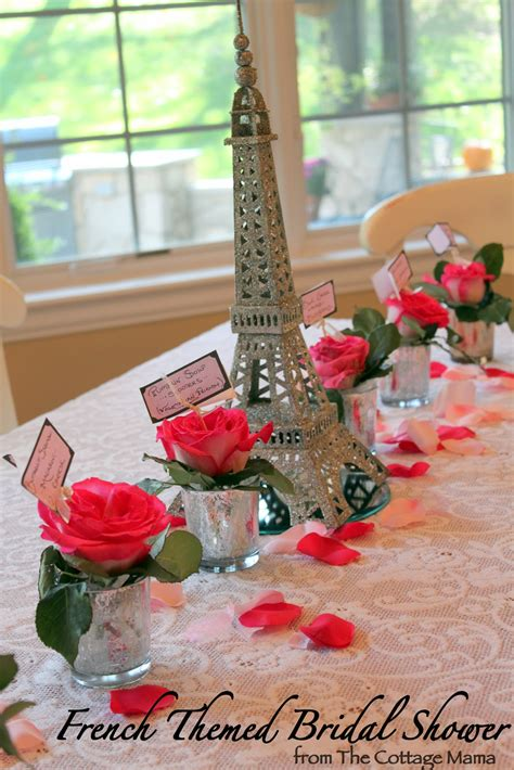 Bridal Shower Ideas - themed bridal shower the cottage