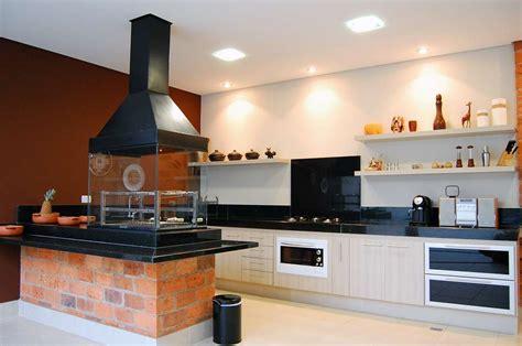 cuisines aviva com photo une cuisine américaine avec barbecue d 39 intérieur