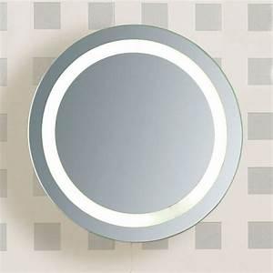 Miroir Rond Led : badspiegel mit beleuchtung praktisch und elegant ~ Teatrodelosmanantiales.com Idées de Décoration