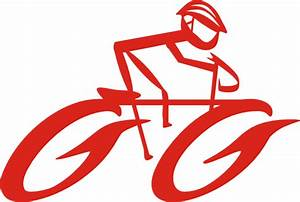 Bicycle Cyclist On Bike Clip Art At Vector Clip Art Online Image  6293