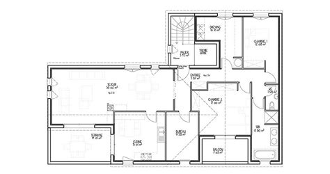 plan d architecte maison 100m2