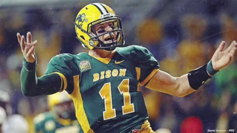 carson wentz eagles future qb north dakota st youtube