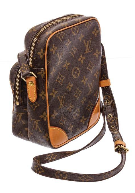 louis vuitton monogram canvas leather amazone crossbody bag  sale  stdibs