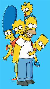 The Simpson family Wallpaper for iPhone X, 8, 7, 6
