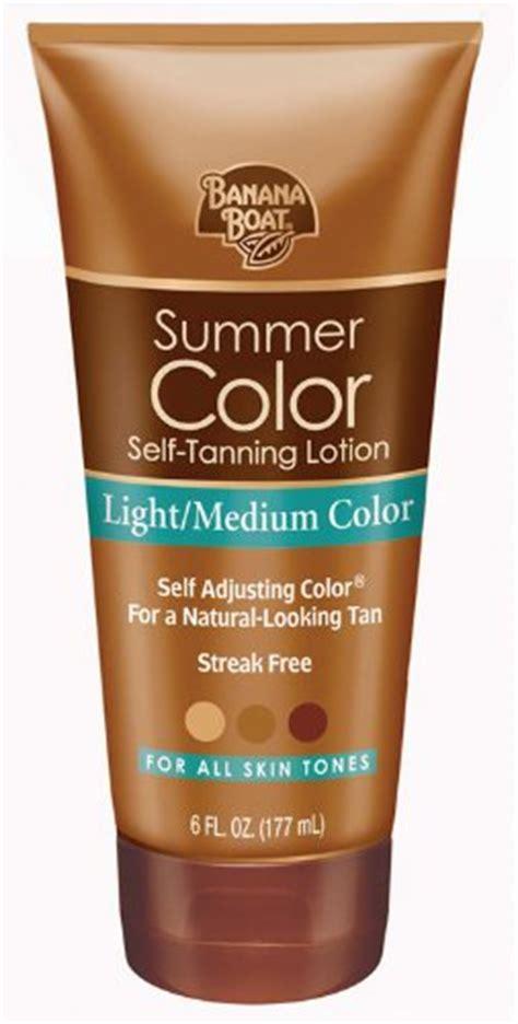 banana boat summer color wts banana boat summer color self tanning lotion