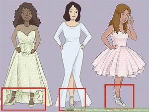 how to select shoes to wear with your wedding dress 10 steps With shoes to wear with wedding dress