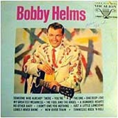 bobby helms died bobby helms vinyl record albums
