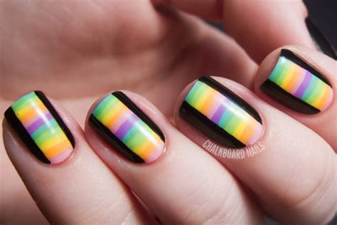 Nail Art Diy :  Kaleidoscope Nail Art And More Of Our