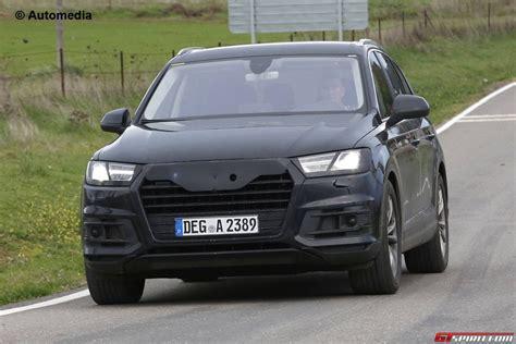 2018 Audi Q7 Spied Almost Undisguised Gtspirit