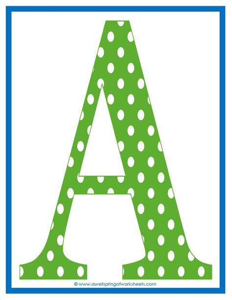 polka dot alphabet letters images 9 best images of free printable polka dot letters 21987