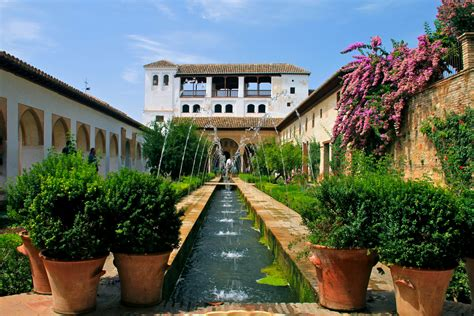 Jardin De L Alhambra Marrakech by Patio De La Acequia Generalife Patio De La Acequia