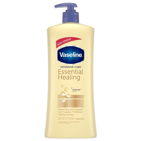 vaseline intensive care hand  body lotion essential