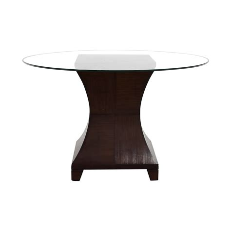 used round glass table top tables used tables for sale