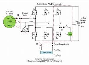 Topology Of The Integrated Charger For Electric Vehicles