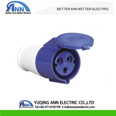 Mobile Mounting Socket 32a 2p china industrial connector 16a 32a 6h pa66 mobile socket