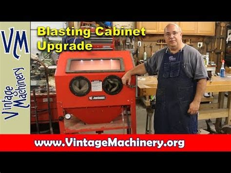 tacoma company blast cabinet upgrade blasting cabinet upgrade from tacoma company how to make