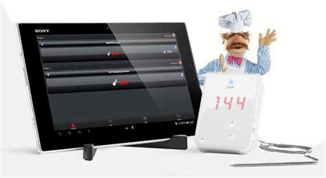 tablette cuisine qooq sony présente sa xperia tablet z kitchen edition dédiée