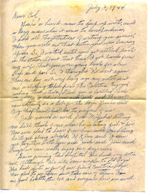 albert fish letter dr richard kainuma 07 02 1945 30503