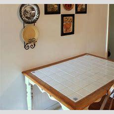 25+ Best Ideas About Tile Top Tables On Pinterest  Tile