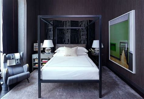 Eclectic Bachelor Retreat by 60 Stylish Bachelor Pad Bedroom Ideas