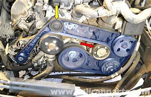 Mercedes-benz W203 Water Pump Replacement